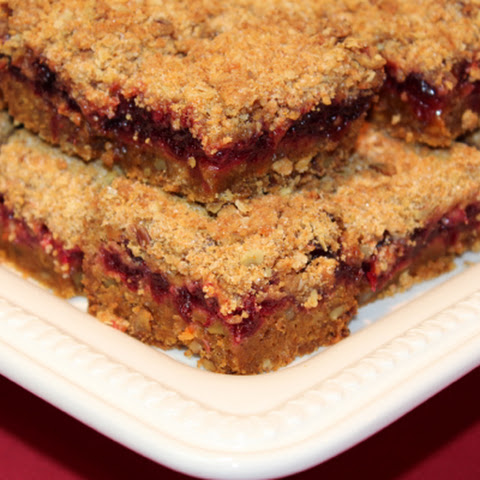 Quick Bread Cranberry Squares