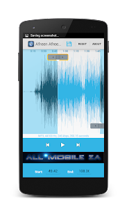 Audio Editor & Ringtone Maker - screenshot