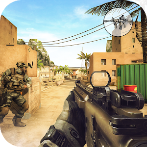 Modern Counter Global Strike 3D Mod Money + APK 1.1 Android Terbaru