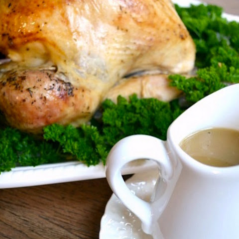 White Wine Roasted Turkey {with Amazing Gravy}