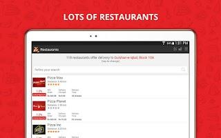 Screenshot of Supermeal.pk - Order Online