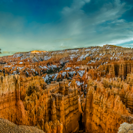 Bryce Canyon National Park by Bill Higginson - Landscapes Caves & Formations ( national park, desert, sunset, canyon, bryce canyon )