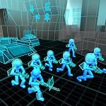 Stickman Simulador: Neon Tank Battle Icon