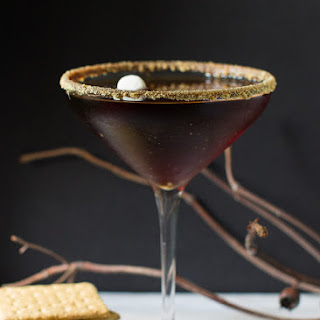 S'mores Chocolate Martini