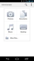 Screenshot of Carbonite Mobile