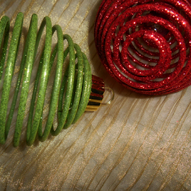 Metal Spiral Ornaments by Liz Pascal - Public Holidays Christmas (  )