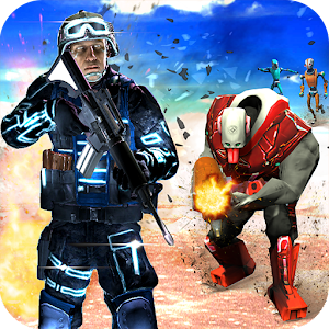 Galaxy Troopers Special Ops - Robots War Survival
