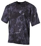 Футболка US стиль 170г/м - Max Fuchs - камуфляж snake black