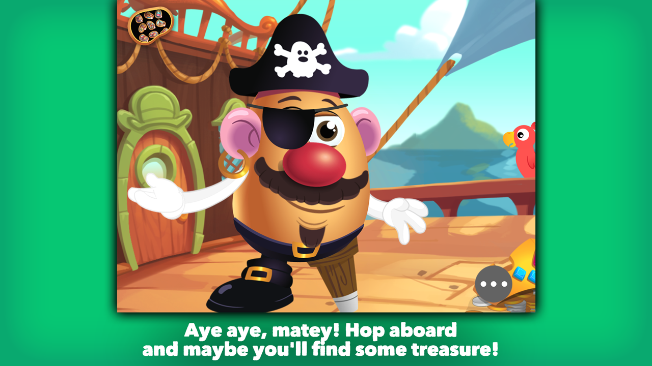 Mr. Potato Head: School Rush Screenshot 2