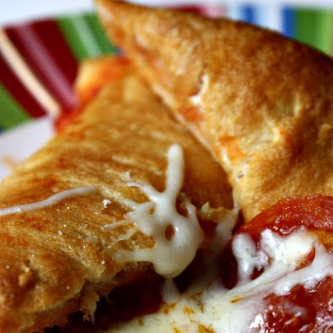 Homemade Pizza Pocket