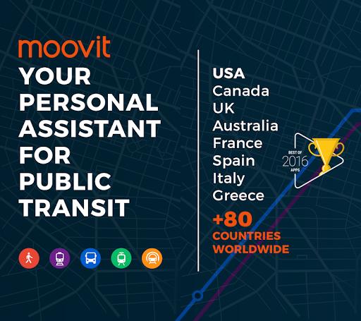 Moovit: Bus & Train Live Info screenshot 1
