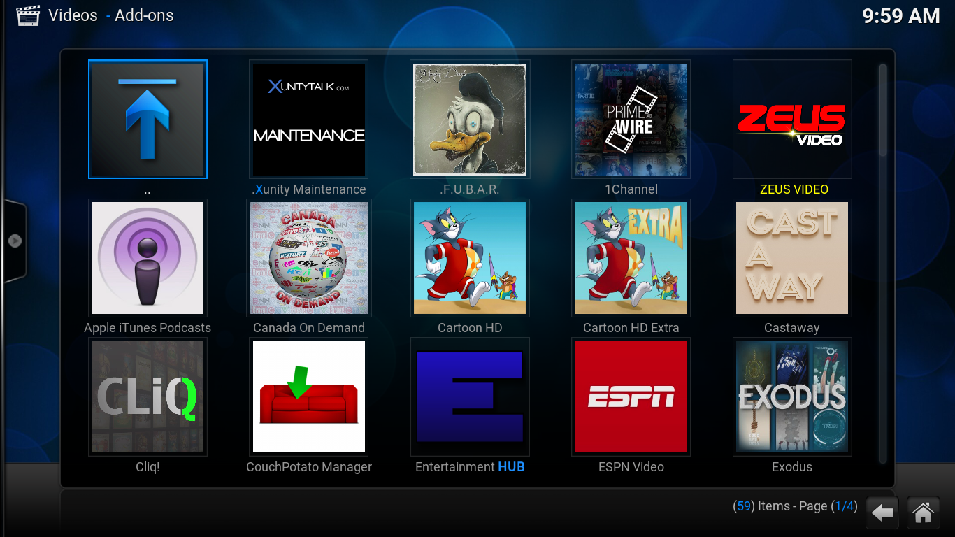 Easy Kodi Wizard Screenshot 2