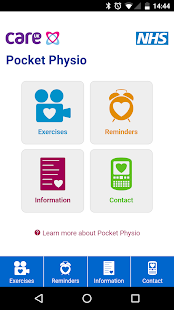 Pocket Physio screenshot for Android