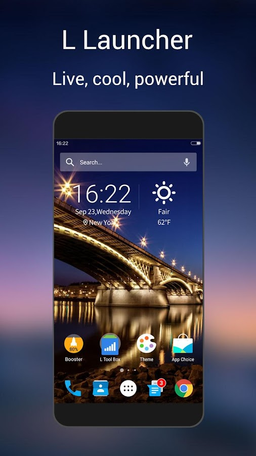 L Launcher -Marshmallow Launch Screenshot 0