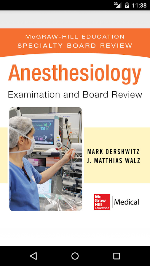 Anesthesiology Board Review Screenshot 0