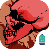 Free Bloody Skulls Typany Theme APK for Windows 8