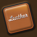 Luxury Simple Leather Keyboard Icon