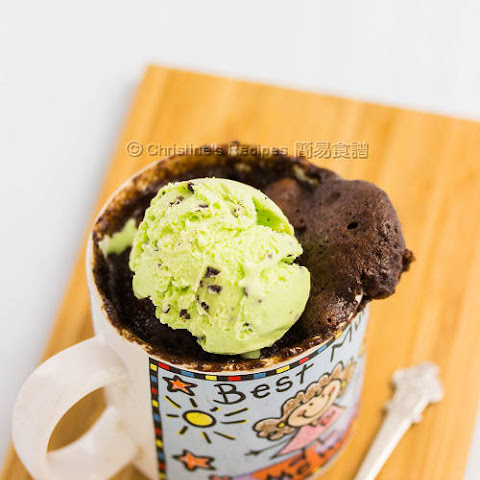 Coffee Chocolate Mug Cake