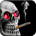 Free Smoking Skull Live Wallpaper APK for Windows 8