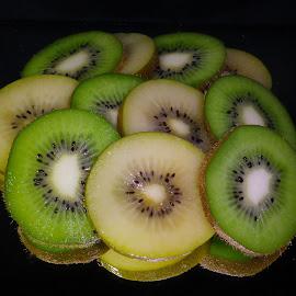 Kiwi Slices by Kris Pate - Food & Drink Fruits & Vegetables