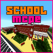 School for Minecraft PE ? Map  for Android