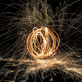 Untitled by Shadman Samin - Abstract Fire & Fireworks
