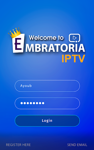 Embratoria IPTV screenshot 1