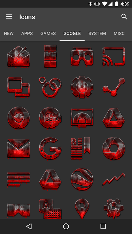 Tha 13 - Icon Pack Screenshot 1