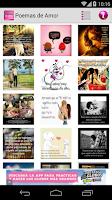Screenshot of Poemas de Amor
