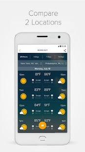 Morecast™ - Weather Forecast with Radar & Widget Screenshot