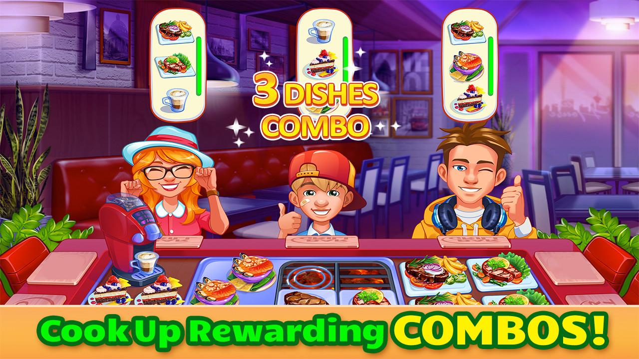 Cooking Craze A Fast Fun Restaurant Chef Game Screenshot