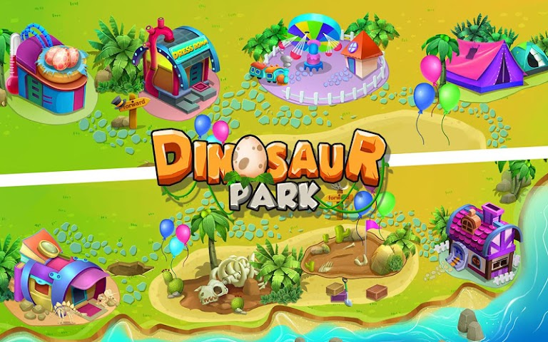 android Dinosaur Park: Dino Baby Born Screenshot 11