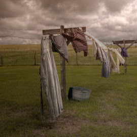 Out on the line by Michele Richter - Artistic Objects Clothing & Accessories ( hdr, clothing )