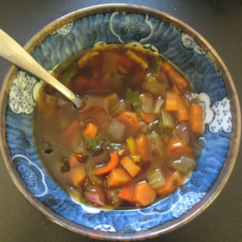 Nourishing Japanese Vegetable Soup
