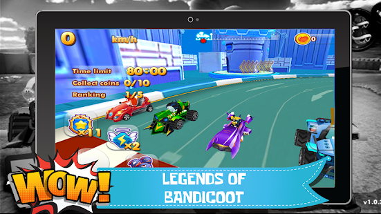 Bandicoot Kart Racing 2