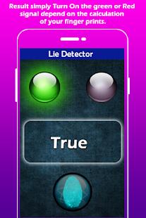 Lie Detector Simulator apk screenshot
