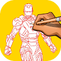 Download How to Draw Iron Man APK on PC