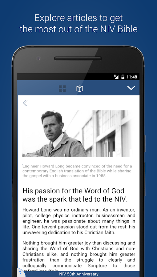NIV 50th Anniversary Bible Screenshot 4