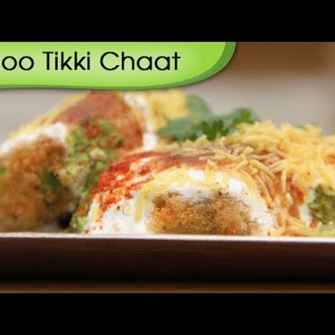 Aloo Tikki – Spicy Fried Potato Patties With Yogurt Dip – Quick Snacks Recipe By Ruchi Bharani
