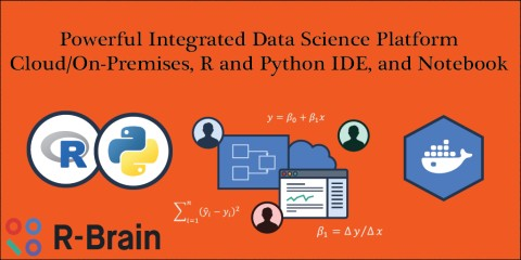 R-Brain Platform for Data Science: R, Python, sharing, security, and marketplace