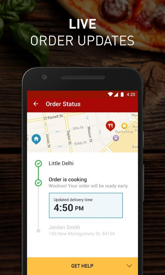Eat24 Food Delivery & Takeout Screenshot 4