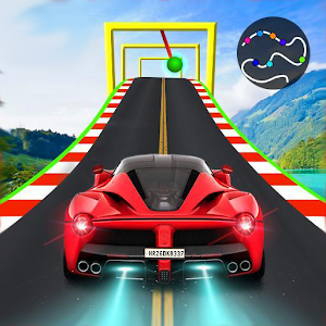 Crazy Car & Impossible Track Racing Ramp Car Stunt For PC (Windows & MAC)