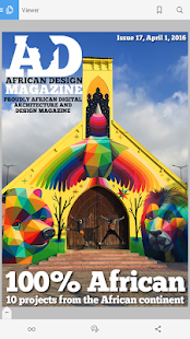 African Design Magazine - screenshot
