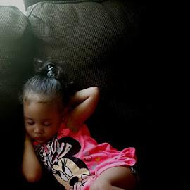 Sleeping Cutie by Michael Griffin - Babies & Children Children Candids ( child, baby girl, child photography, children, sleeping )