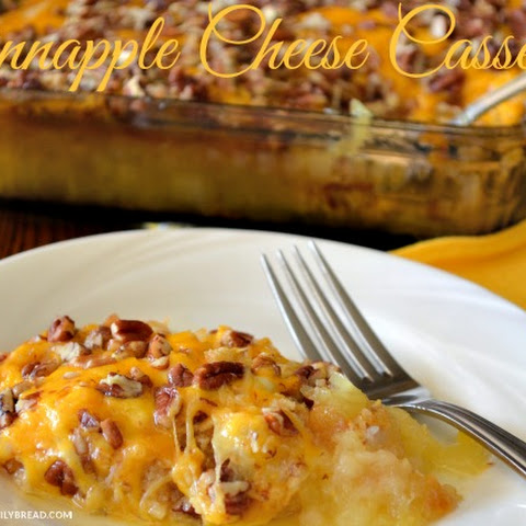 Pineapple Cheese Cracker Casserole