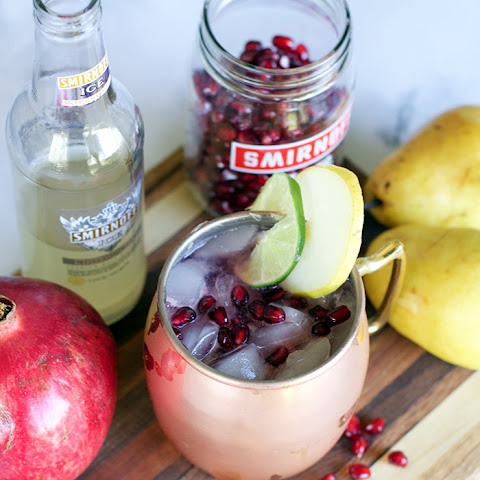 Pomegranate Pear Moscow Mule