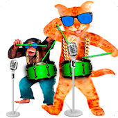 Singing Cat vs Talking Monkey APK for iPhone