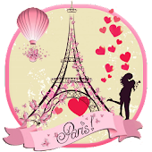 APK App Paris Eiffel Tower Love Theme for BB, BlackBerry