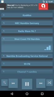 Namibia Radio - screenshot