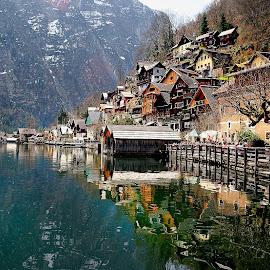 Austria - Land of lakes by Gérard CHATENET - City,  Street & Park  Vistas